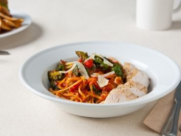Chicken Pasta with 100% Fresh and Natural Ingredients