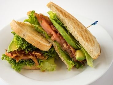 Bacon Lettuce Tomato and Avocado