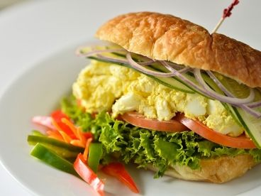 Egg Sandwich for Big Appetites