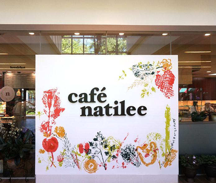 at Cafe Natilee