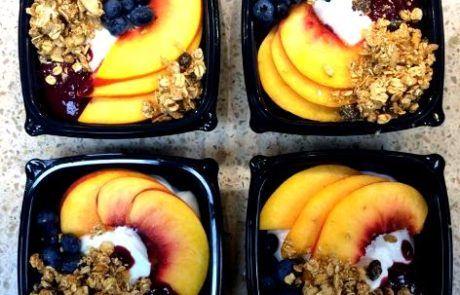 Fruit and Granola Parfaits
